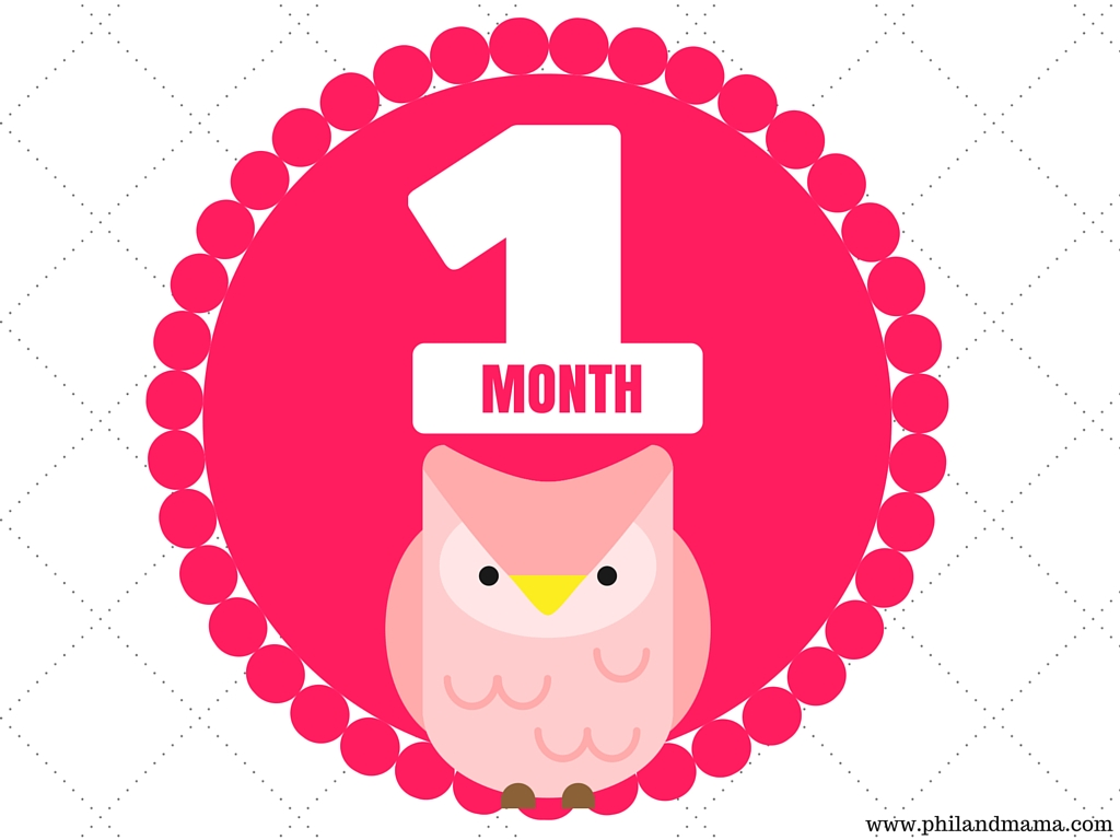 This is a picture of Striking Free Printable Baby Month Signs