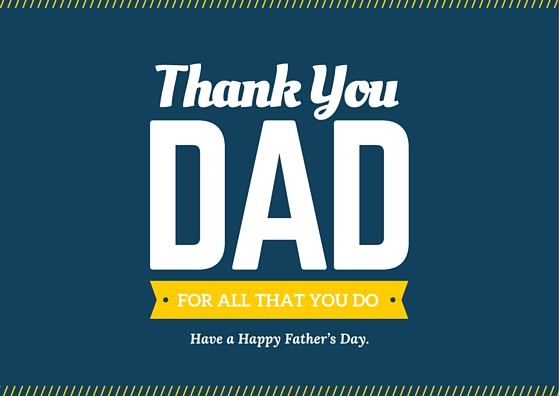 """Right-click to save as our download the PDF File of """"thank you Dad for all that you do"""""""