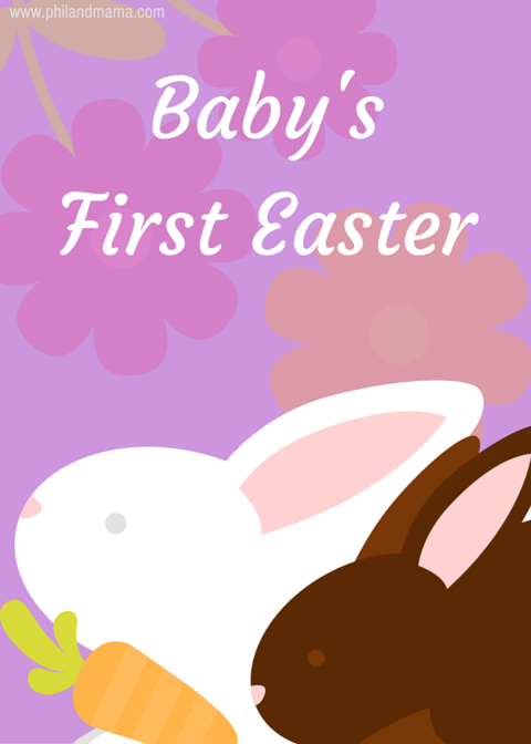 Baby's first Easter FREE PRINTABLE MILESTONE CARD. RIGHT-CLICK to Save AS and Image, regular LEFT-CLICK for the PDF