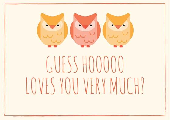 Guess Hooooo... (guess who)