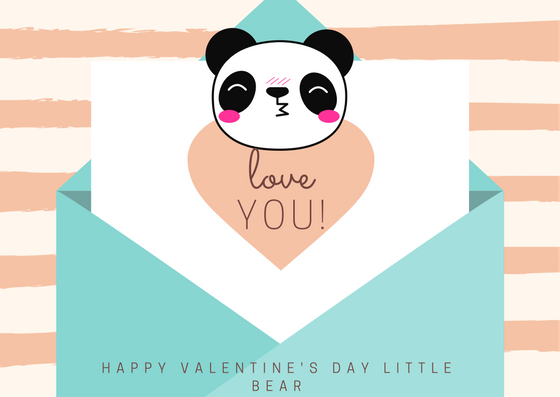 Happy Valentine's Day Little Bear
