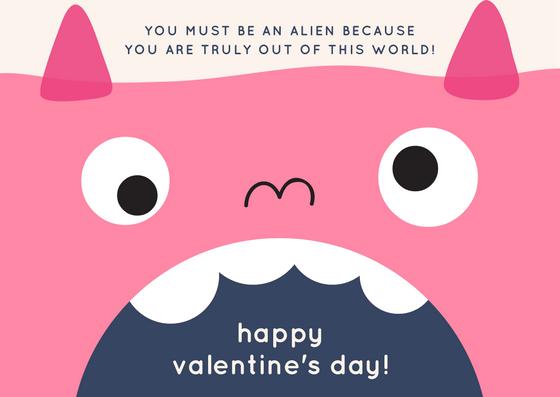 Happy Valentine's Day Little Alien