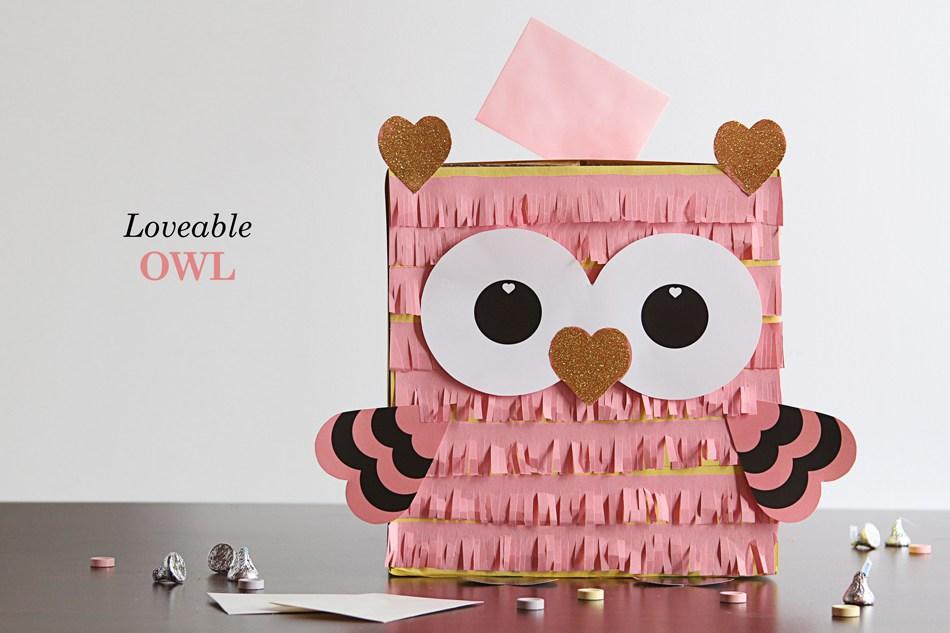 Lovable Owl Box