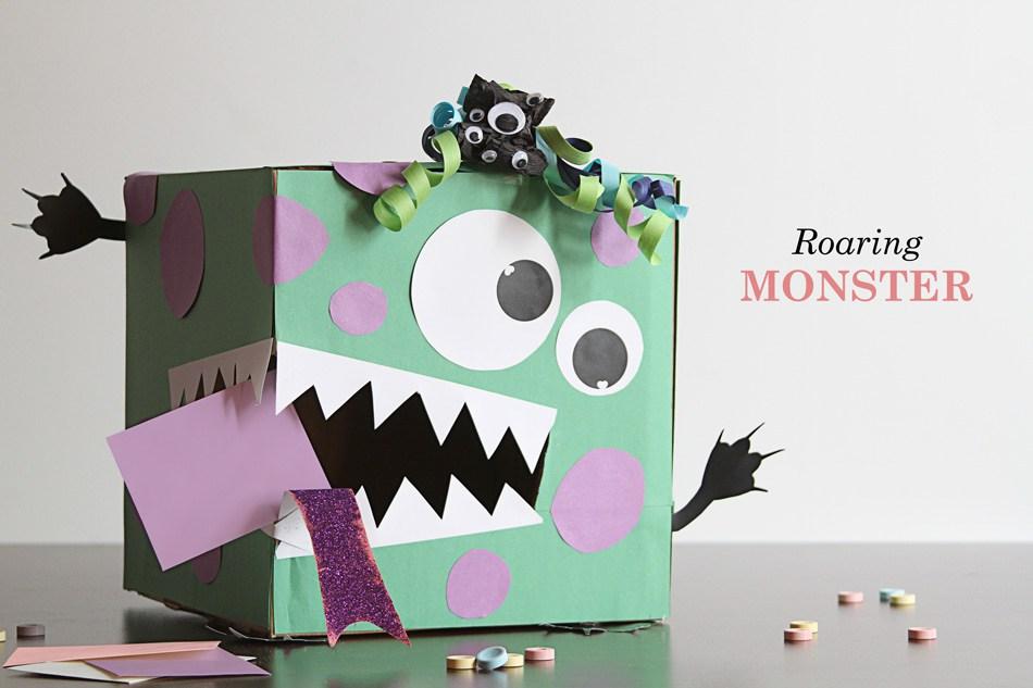 roaring Monster box