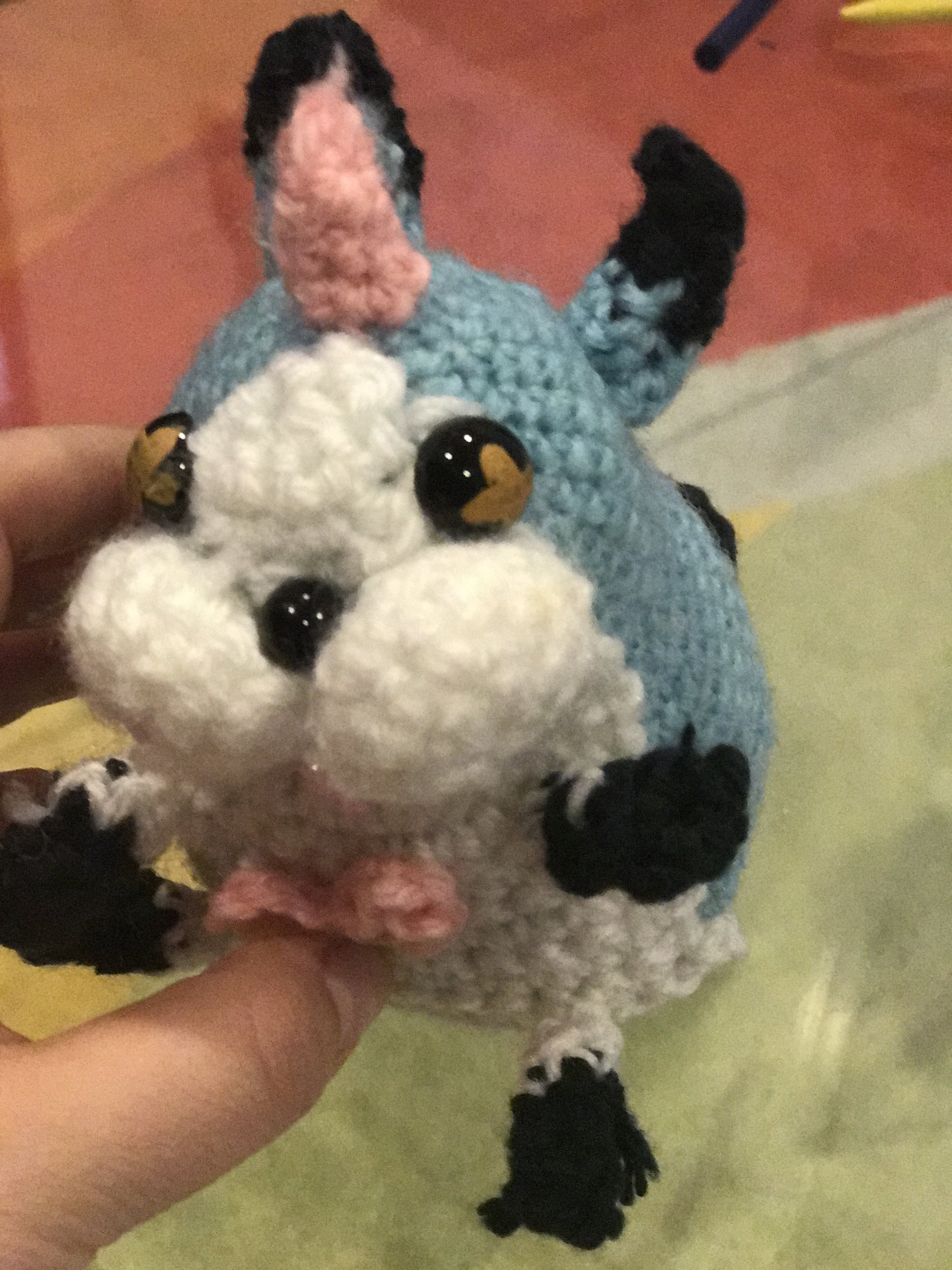 wonder nyan amigurumi crochet- made this from scratch