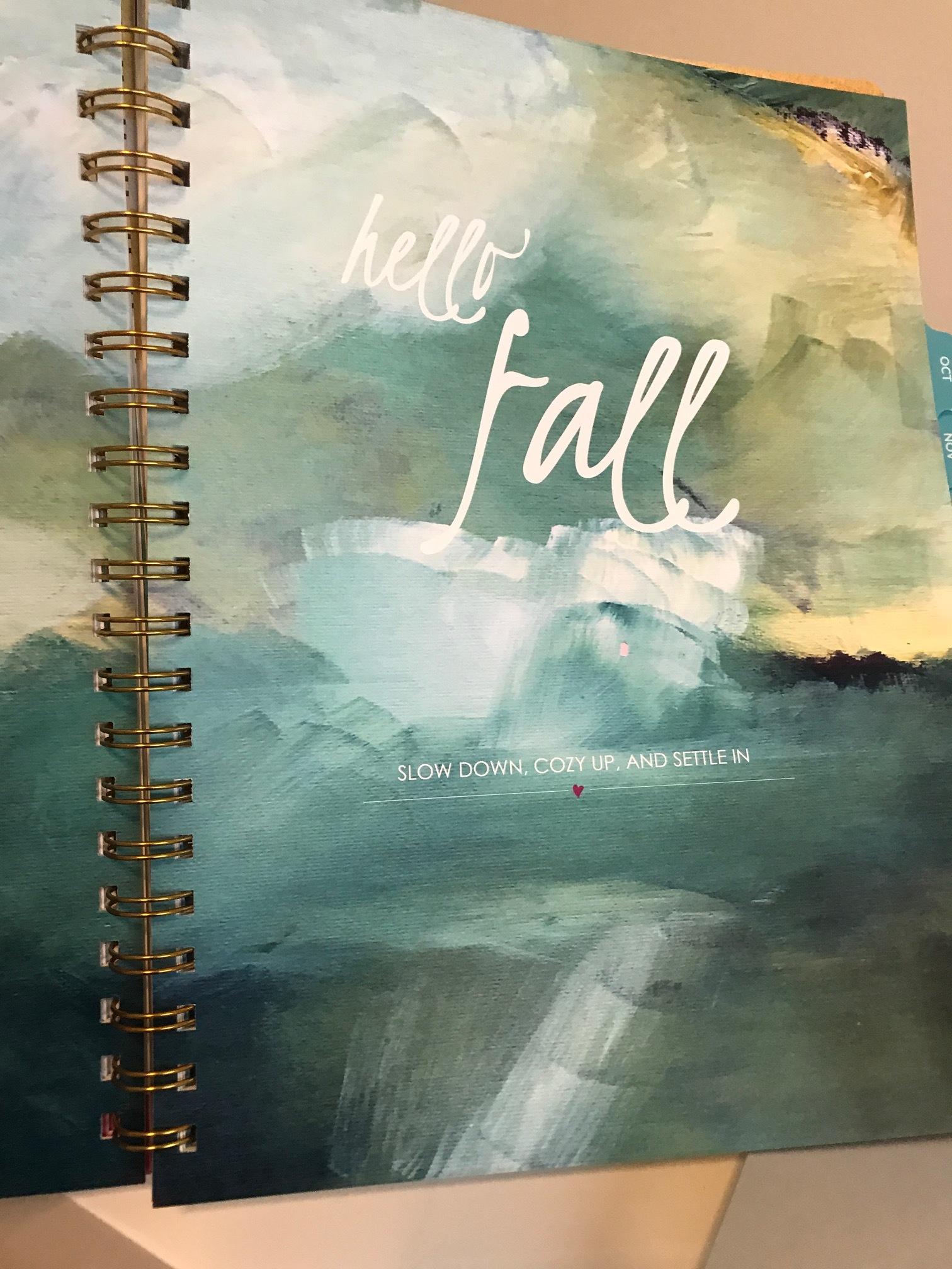 hello fall, indeed