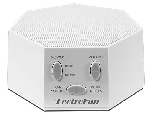 LectroFan White Noise Machine in White