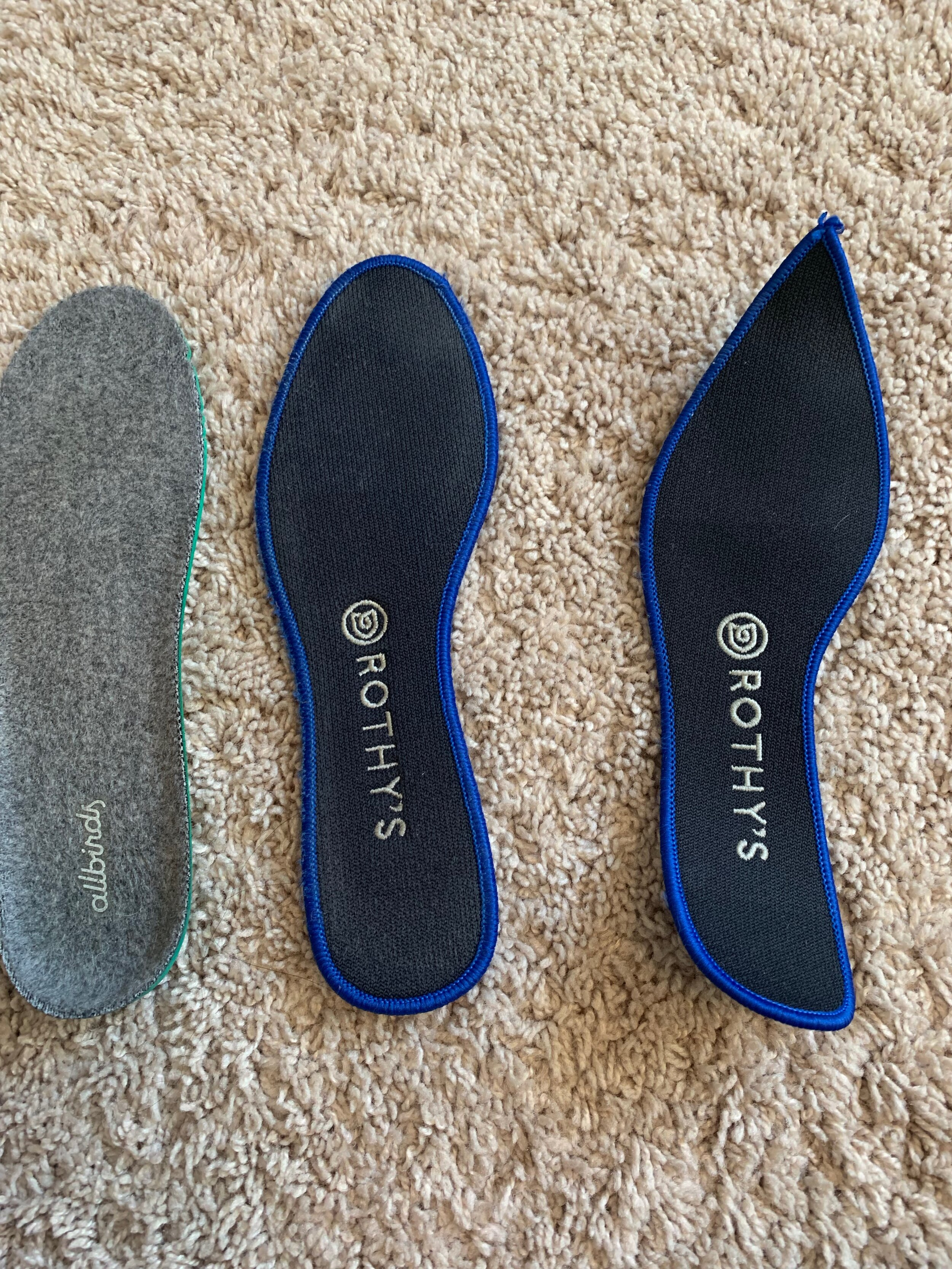 How I put my Allbirds insoles into my