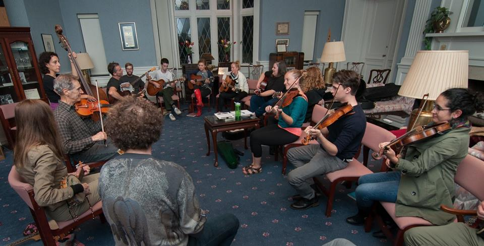 In September 2017 Brad Leftwich joined us in the Hoagy Carmichael Room for some old-time fiddle music