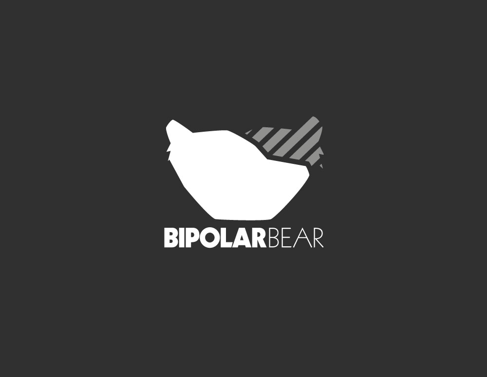 BiPolar Bear // T-shirt branding