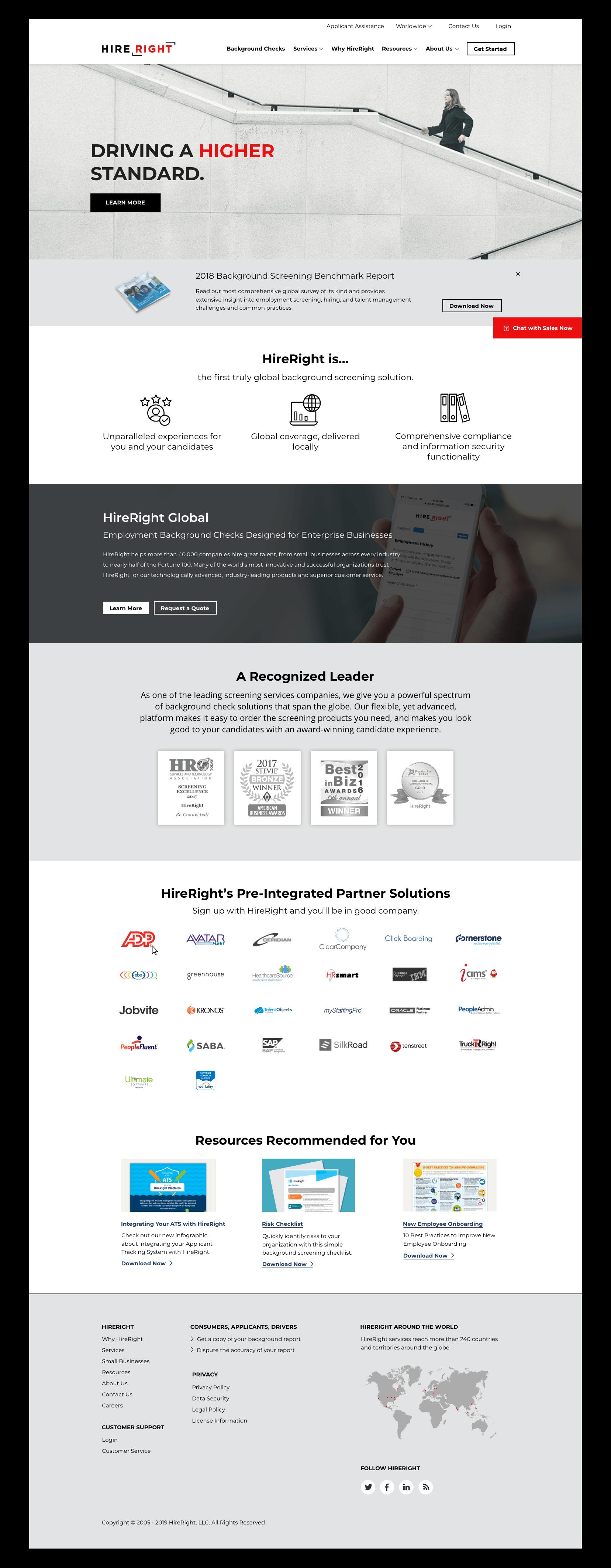 HireRight Web Redesign — Tiffany Hahn Design