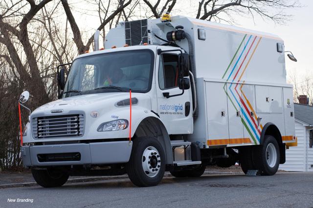 Truck rebranding