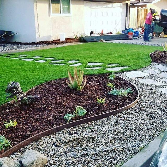 Ecograss artificial grass installation and design