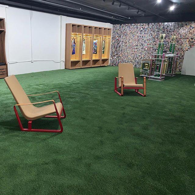 Indoor installation downtown LA #ecograss