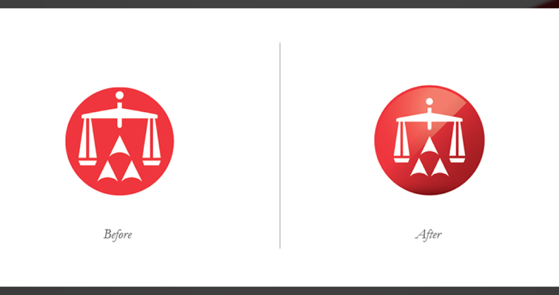 Updating the American Arbitration Association LOGO (above) and IDENTITY (below)