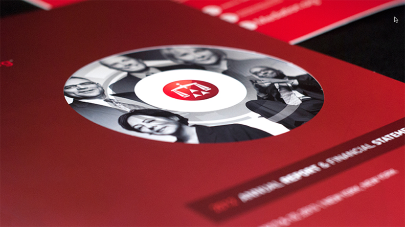 The updated IDENTITY was applied to a variety of collateral material.
