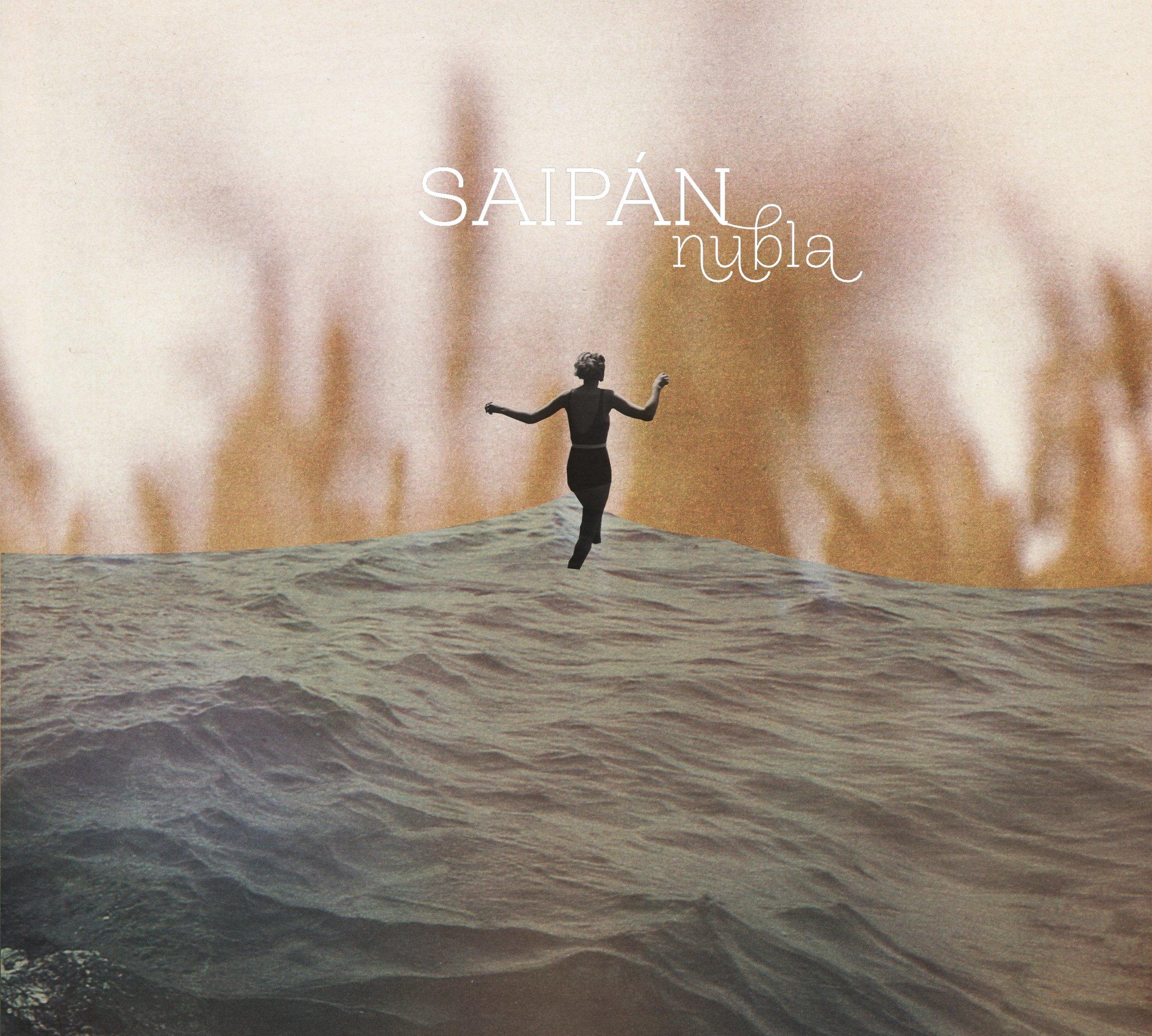Saipán album design