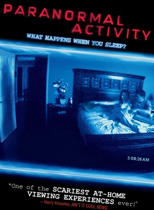 "PARANORMAL ACTIVITY - NOW ON DVD in the original ending (not shown in theaters)  Randy as ""Lt. Randy Hudson"""