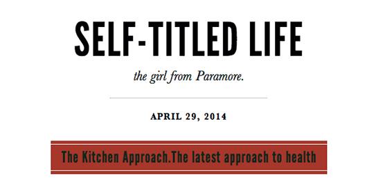 Lead singer of Paramore endorses Wendi