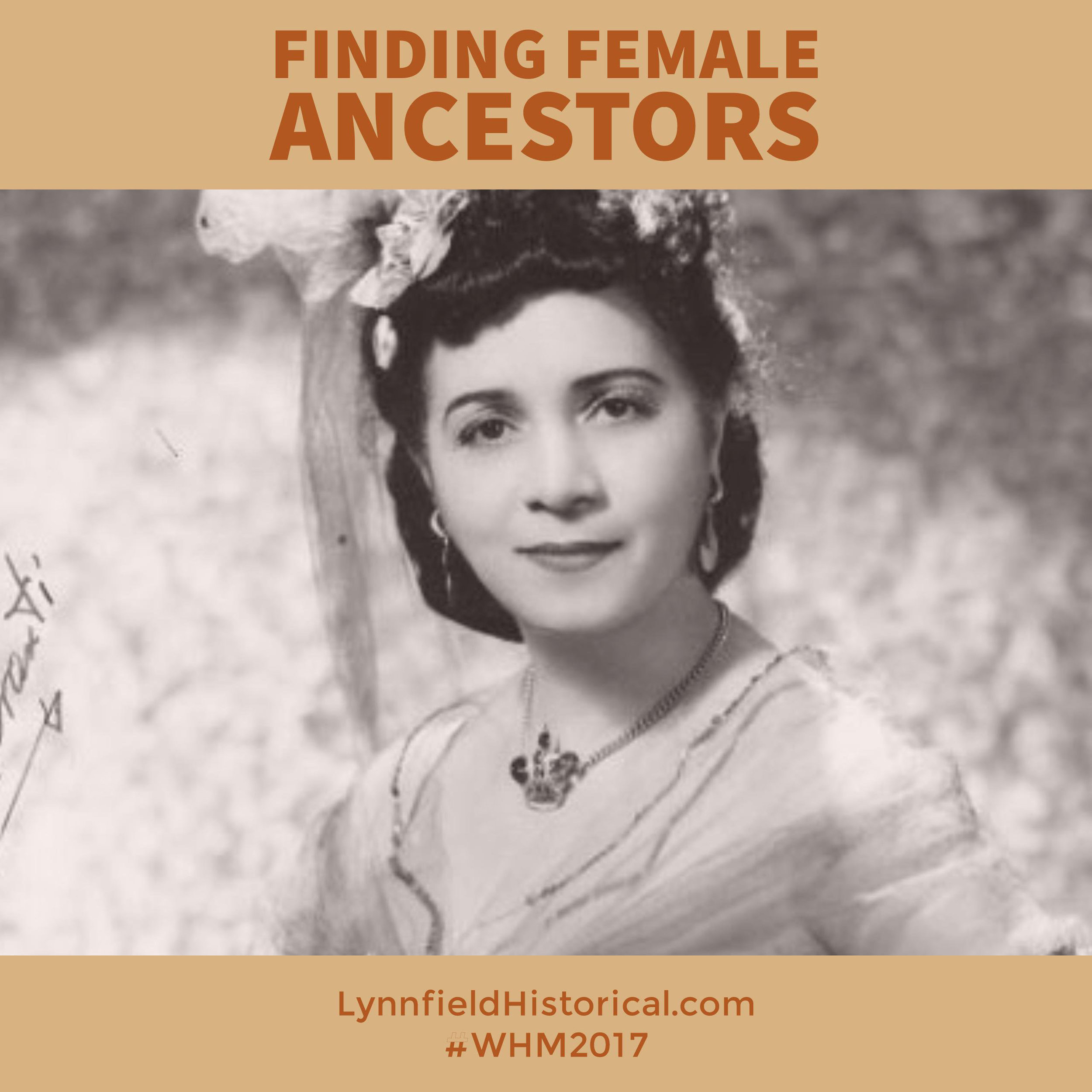 Finding Female Ancestors