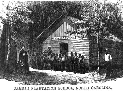 Harper's Weekly Sketch of James's School
