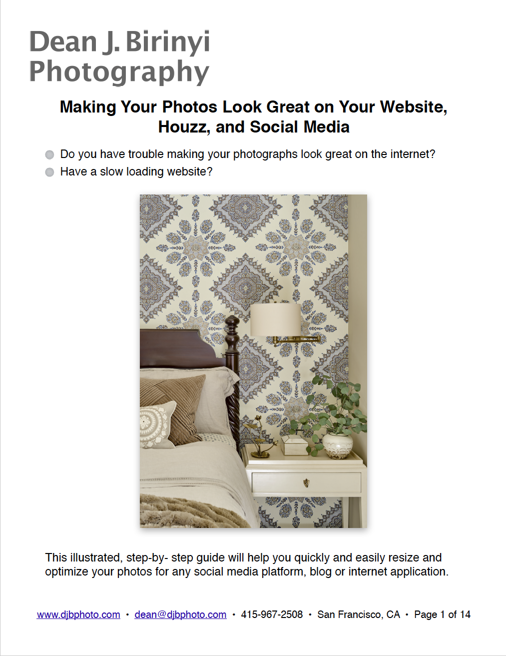 Making Your Photos Look Great On The Internet And Social Media Cover