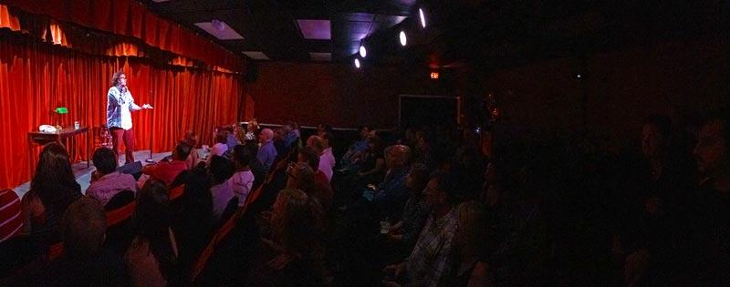 Host/MC: David Stebbins warms up the crowd