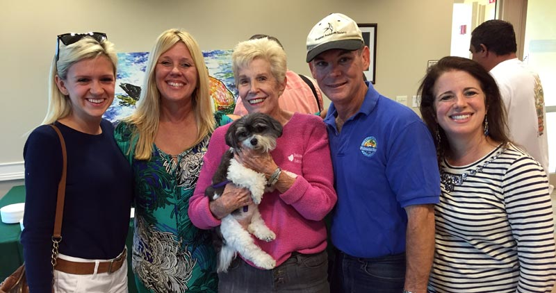 Daughter Meghan and Karyn Cunningham (Councilwoman – District 1), Susan White, Mayor Eugene Flinn and his wife Alex