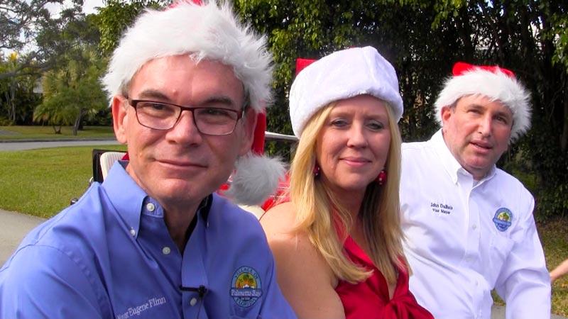[L to R] Mayor Eugene Flinn, Councilwoman Karyn Cunningham and Vice Mayor John DuBois