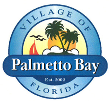 The seal for the Village of Palmetto Bay