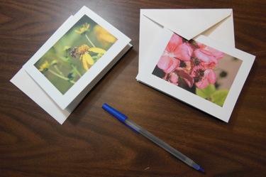 SAMPLE HOMEMADE PHOTO GIFT CARD