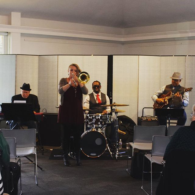 Great gig with Melissa Gardiner yesterday.