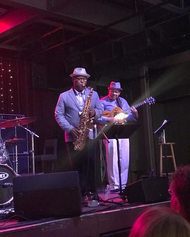 Cool start of exodus to jazz show tonight with redshift and special guest JD Allen.