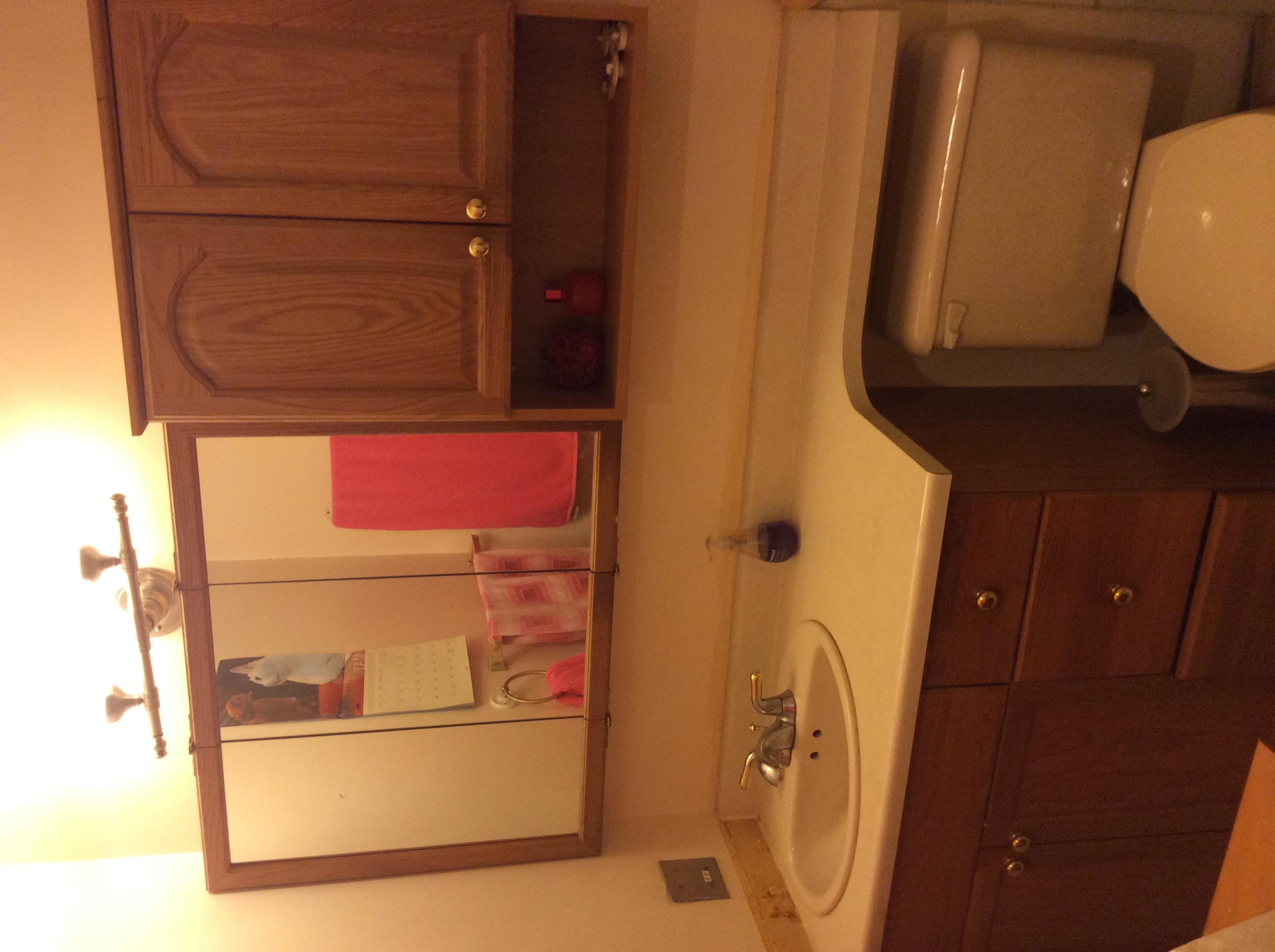 Inglewood Condo Bathroom Before
