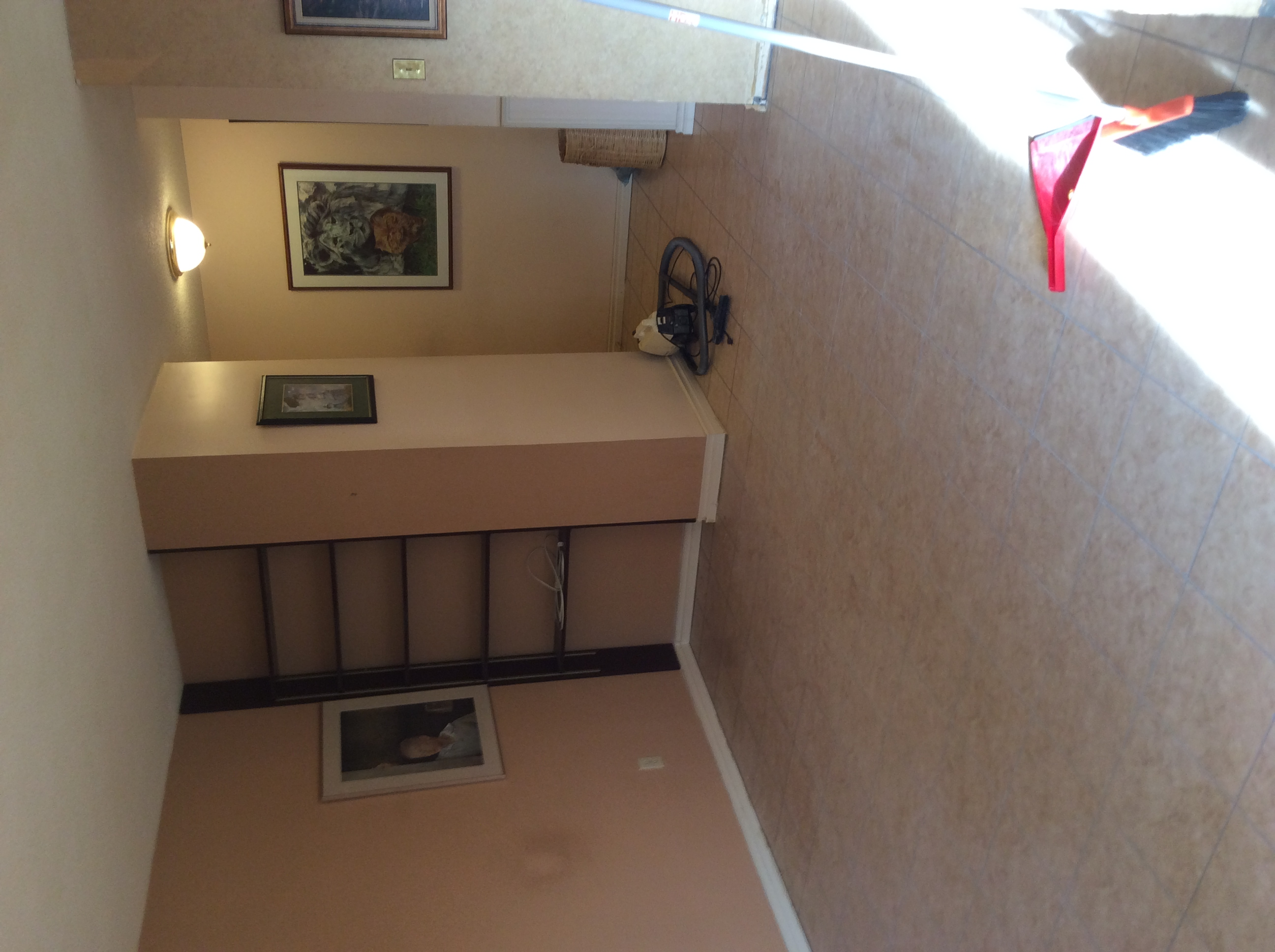 Inglewood Condo Living Room Before