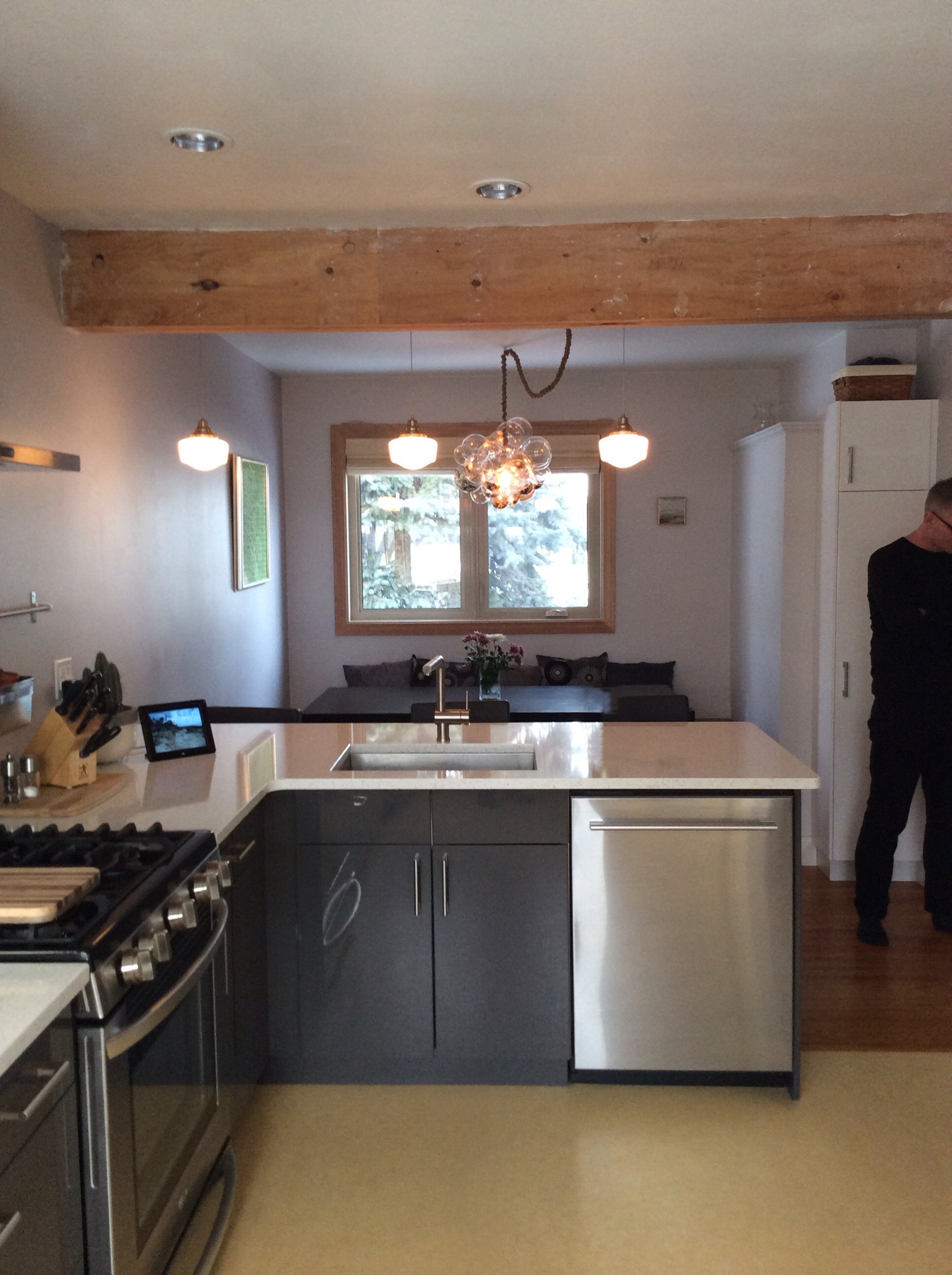 Westmount Kitchen and Dining Room After