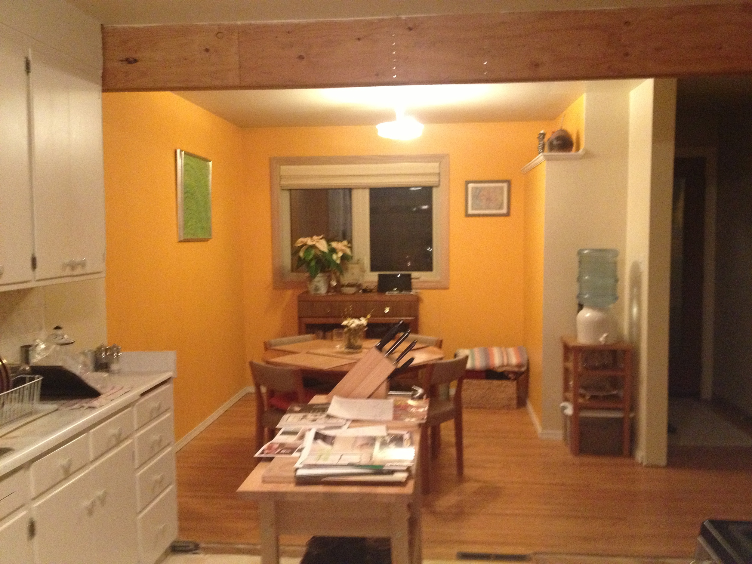 Westmount Kitchen and Dining Room Before
