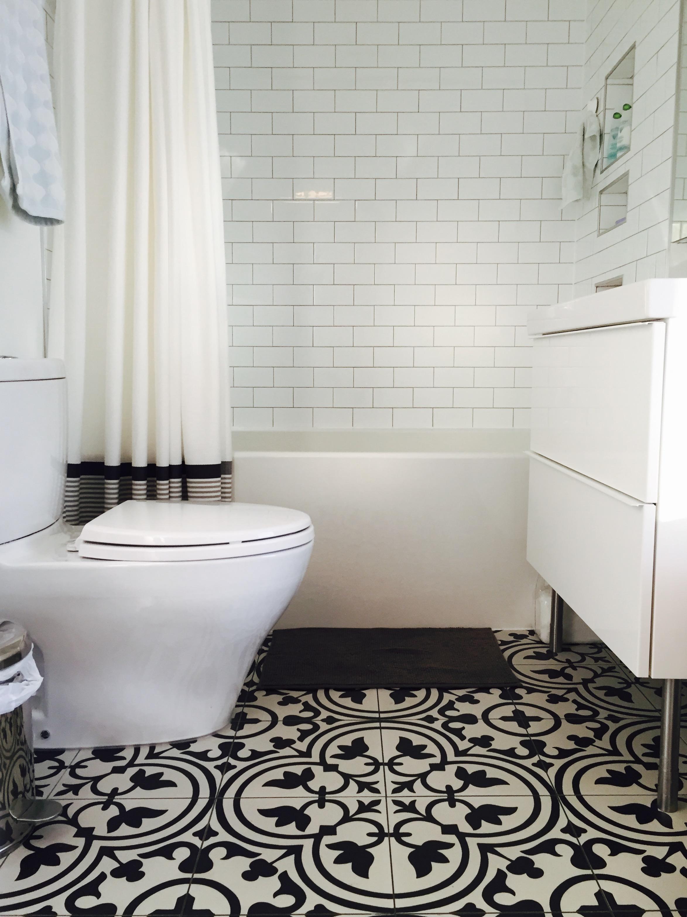 Millcreek Ravine Bathroom Renovation, Artistic Tile, Edmonton, Alberta