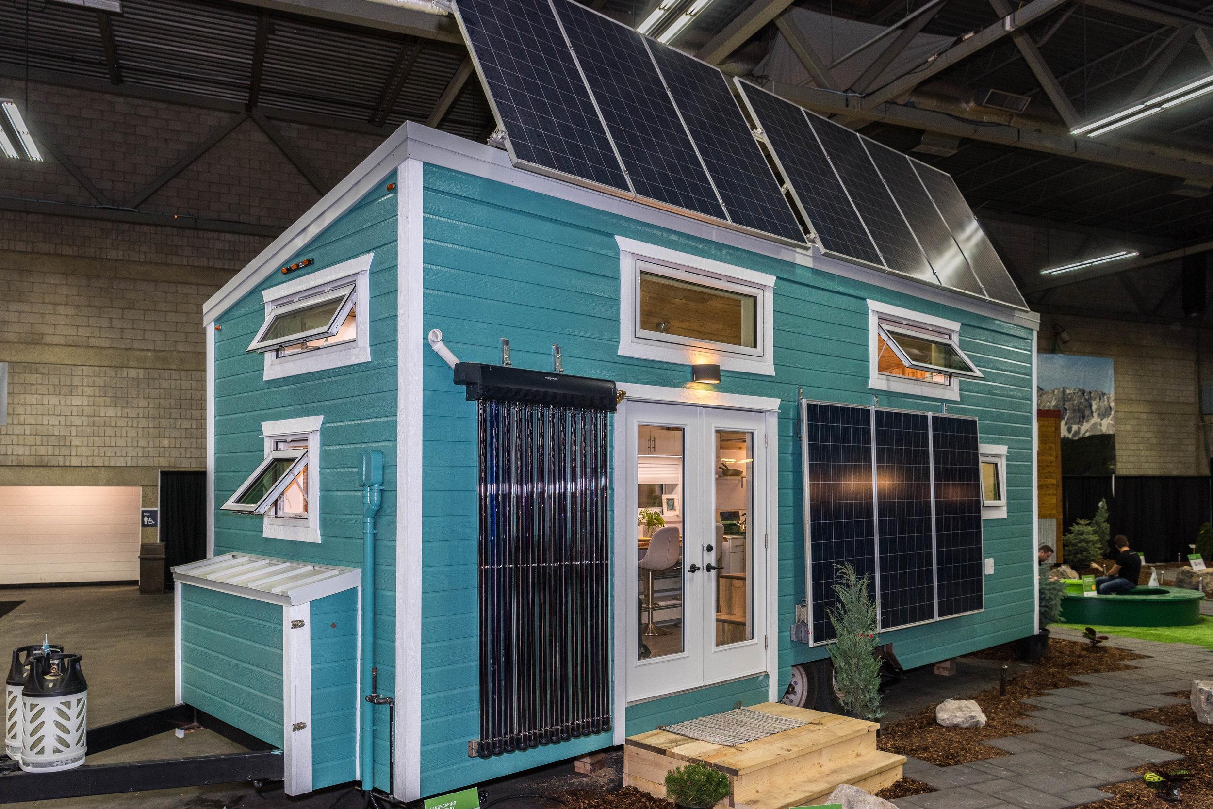 Tiny House Interior Design, Edmonton, Alberta, Home and Garden Show 2017