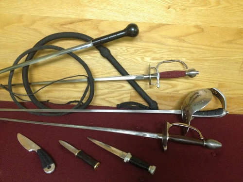 The Weapons of  Zastrozzi