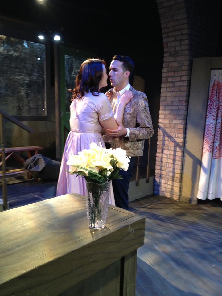 Meredith Larson and Philip Matthews in Orpheus Descending