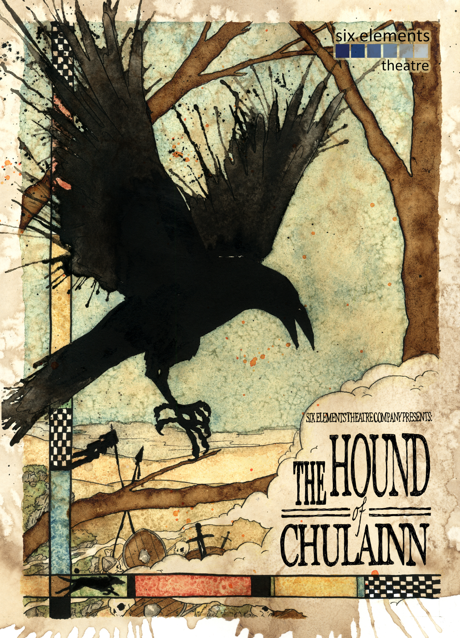 Hound of Chulainn Postcard