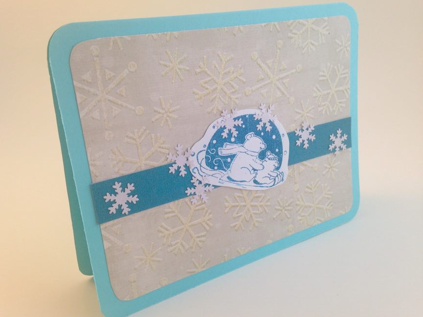 Polar Bears Christmas Card