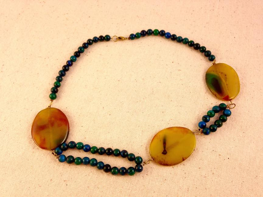 Assymetrical Stone Statement Necklace.jpg