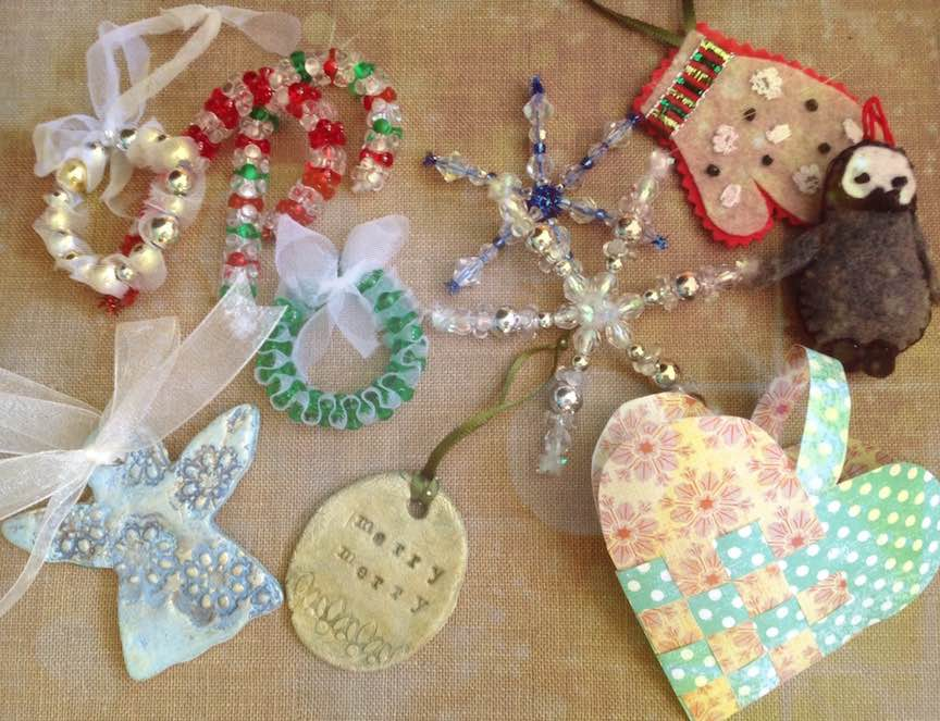 Make Christmas Ornaments -