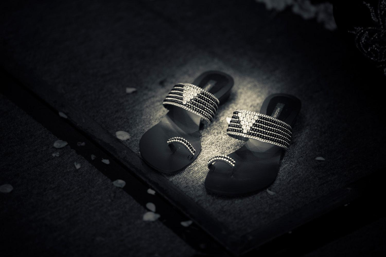 Bride's Slippers