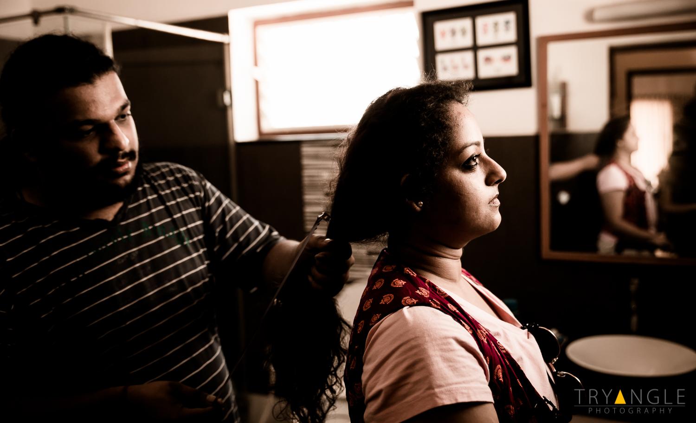 Inspecting Hair Length