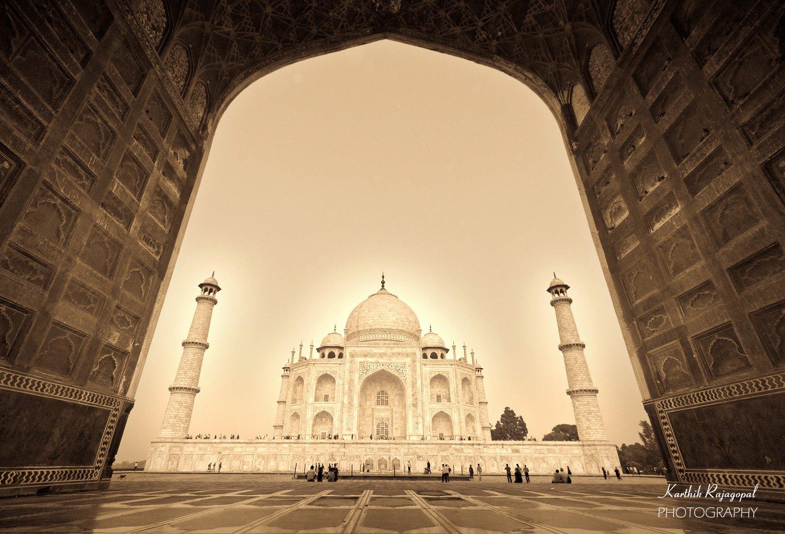 Taj in an Unusual Angle