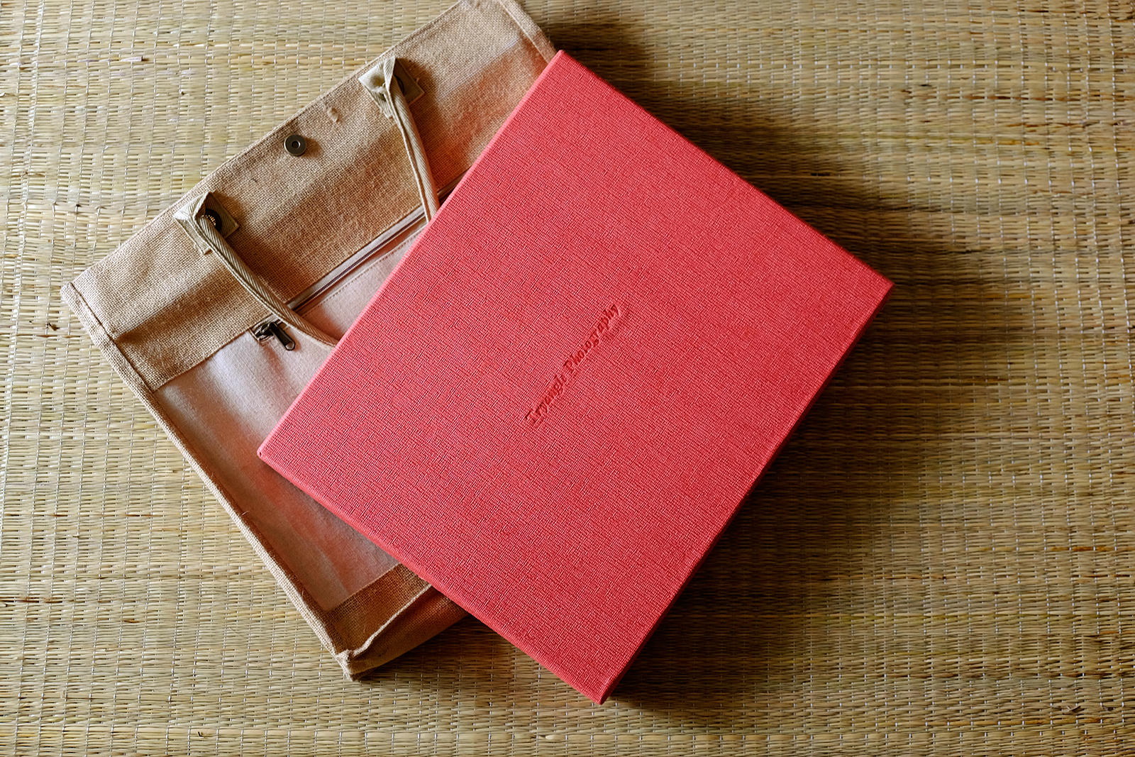 Album with Box and Carry Case