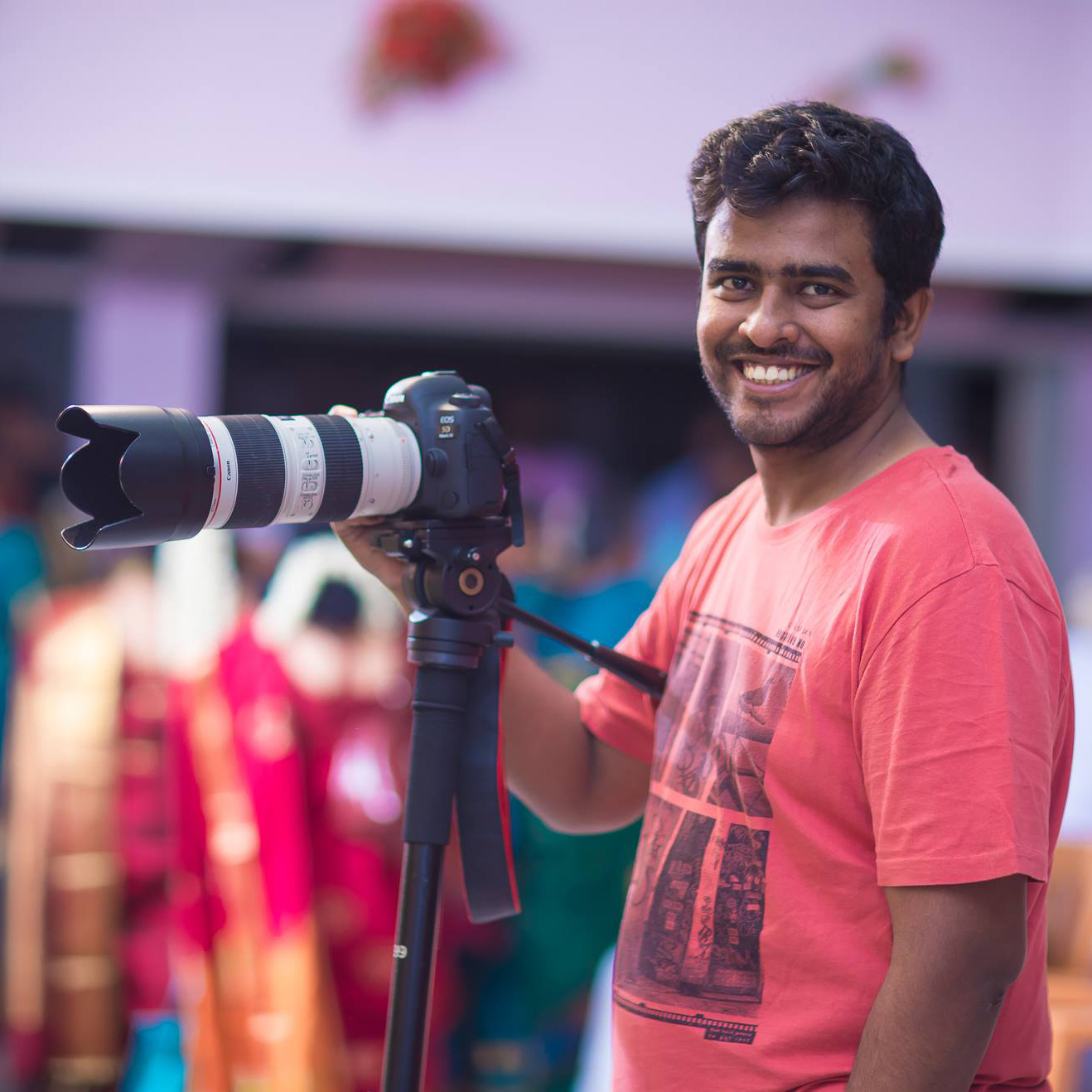 Kiran Kumar  is a professional wedding photographer from Chennai who is know for his energetic and colourful wedding photographs.  www.3rdeyestudio.in